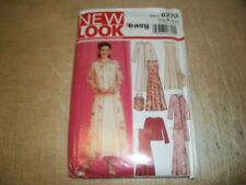 Sewing patterns: New Look 6270, Misses Skirt, Dress, Wrap & Bag, Sizes 10 to 22