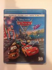 Cars 2 3D (Blu-ray/DVD, 2011, 5-Disc ser, 3D) Authentic Disney