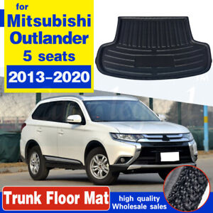 For Mitsubishi Outlander 2013-2020 Boot Liner Cargo Tray Trunk Mat Carpet
