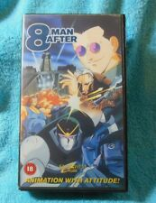 8 Man After Vol 1 City in Fear Japanese Anime