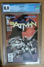 Batman #1 2011 Second Print CGC 8.0 VF - Capullo art - Freshly graded