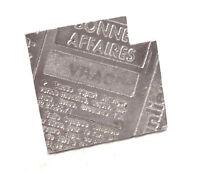 Bijou étain argenté Biche de Bere Paris broche design brooch
