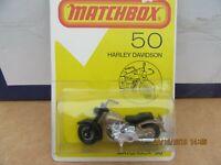 Matchbox 1-75 No.50 - Harley Davidson  Motorcycle.