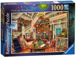 Ravensburger - Aimee Stewart - The Fantasy Bookshop Jigsaw Puzzle (1000 Pieces)