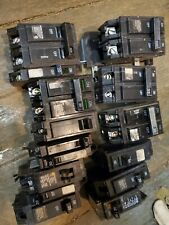 Thqp120 Ge square d hom Circuit Breakers Lot of 15 assortment