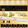 *Premium* EID MUBARAK DECORATIONS Banner Party Flags Bunting Balloons Wrap Gift