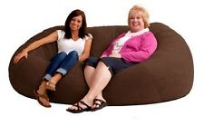 Bean Bag Chair Giant Bags Large Big Oversized Chairs Memory Foam Suede 7 Ft Kids