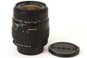 Objetivo Sigma 28-80 Macro para Sony A Alpha y Minolta AF (perfecto estado)