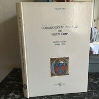 Commission Municipale du Vieux Paris Procès-Verbaux 1995 Rotonde De La Villette