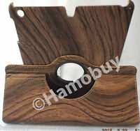 Retro Wood Style Design For ipad 5, ipad Air Case  Stand Leather Cover