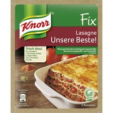 5 Bags Knorr Fix for Lasagne  New and ever fresh from Germany