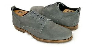 Timberland Boot Co. Men's Grey Suede Bardstown Plain Toe Oxford Shoes 11 D