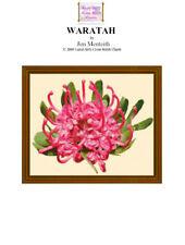 WARATAH - cross stitch chart