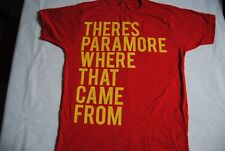 PARAMORE THERE'S PARAMORE WHERE THAT CAME FROM T SHIRT NEW OFFICIAL