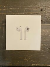 Apple AirPods White In Ear Bluetooth Headsets with  Charging Case