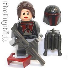 SW672 F Lego Bounty Hunter Custom Shae Vizla with Tattered Armor Pattern NEW