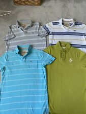 Selection Of Mens Polo Shirts Hollister Abercrombie &Fitch Medium/large £200 New