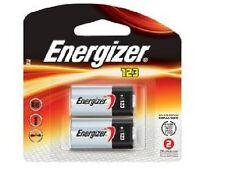 Energizer EL123A 3 Volt Lithium Battery (2 Card)