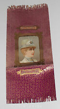 GESCHENKPAPIER farbiger Papierbogen Frauenportrait-Lithografie+Golddruck um 1900