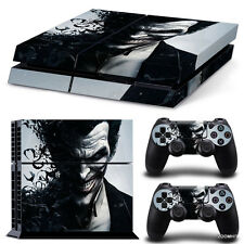 PS4 Playstation 4 Console Skin Decal Sticker The Joker + 2 Controller Skins Set