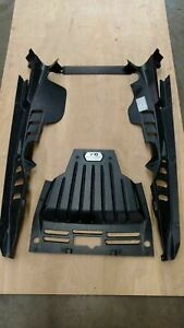 LAMBORGHINI HURACAN COUPE REAR ENGINE BAY FORGED CARBON V10 COVER PANELS OEM