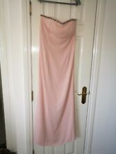 Elise Ryan strapless dress size 14