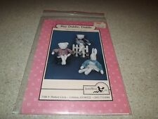 "Jenny Wren  Cloth 29"" Doll Cat Bear Bunny Pattern Uncut vintage Doll sewing"