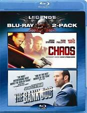 Chaos/The Bank Job (Blu-ray Disc, 2010, 2-Disc Set)