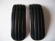 CAR DOOR BUMPER SCRATCH PROTECT CRASHWORTHY MOULDING TRIM BLACK X 2 PIECES