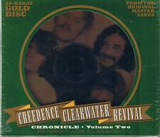 Credence clearwater revival (CCR) Chronicle vol.2 24 carats gold CD neuf emballage d'origine seal