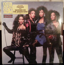 sister sledge  WHEN THE BOYS MEET THE GIRLS  LP vinyl sealed cover creases
