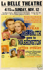 Mr Smith goes to Washington Vintage movie poster