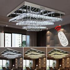 96W LED Kristall Deckenlampe Hängeleuchte dimmbar Wohnraum Starlight-Design