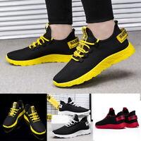 Unisex Turnschuhe Laufschuhe Sneaker Sportschuhe Atmungsaktiv Schnürschuhe Mode