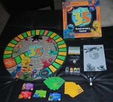 Sesame Street Board Game 35 Years Anniversary Edition Complete Big Bird Cookie +