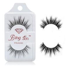 100% Real Mink Long Natural Thick Makeup Eye Lashes False Fake Eyelashes 3D Hot