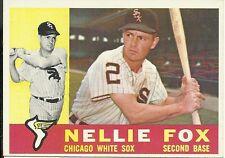 1960 Topps #100 Nellie Fox White Sox HOF 1959 AL MVP EX-MT+ Set Break