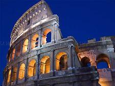 ROME COLISEUM ROMANS ITALY ARCHES PHOTO ART PRINT POSTER PICTURE BMP013A