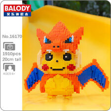 Balody Pokemon Charizard Pikachu Pocket Monster Mini Diamond Blocks Building Toy