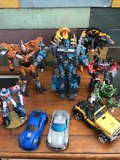 Transformers Lot Bumblebee, Jazz, Nightwatch Optimus MISSING PIECES