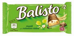 (1,34€ / 100g) 20 x Balisto Müsli-Mix Single = 740g