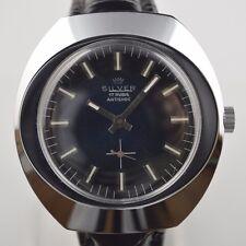 Rare Vintage Collectible 1960's NOS SILVER Watch Cupillard 233-60 FE 233-60
