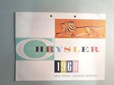 Prospekt/Broschüre, Chrysler 1960, New Yorker-Saratoga-Windsor (Pro-1)