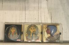 Lot Of 3 Egyptain S.t.a.m.p.s WATCH FACES New Battary & Sticker INCLUDED MIP