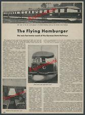 Stromlinienzug Fliegender Hamburger Reichsbahn WUMAG Görlitz Zug Eisenbahn 1933