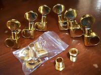 NEW Mécaniques 3x3  STANDARD - gold - vis vers le bas - pour guitare LP & SG
