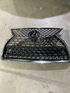 2020 2021 Lexus RX350 RX450 F-Sport Front Bumper Center Grille Oem...