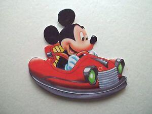 3D - U Pick - VH5 Cars Drivers Bears Mickey License Scrapbook Card Embellishment