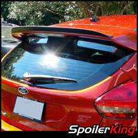 Stock 284 PDL Add-on OE Rear Lip Spoiler Wing Fits 15~18 Ford Focus MK3.5 Sedan