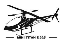 Thunder Tiger Mini Titan E325 Aufkleber